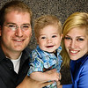 Allie, Joshua & Johnny : Family portrait session