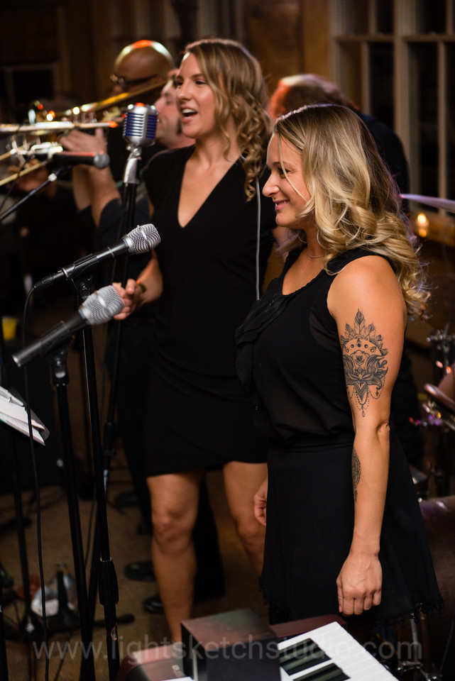 Blue Jack Rhythm Blues Revue Band at Joe and Amanda's wedding reception at Deer Valley Resort in Utah