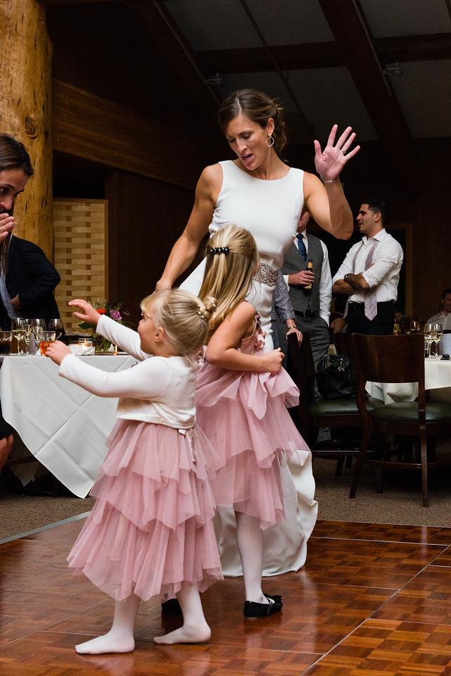 Joe and Amanda's wedding reception, Deer Valley Resort in Utah