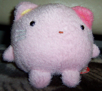 Fuafua... not really anime, but it's a really soft doll from Japan, so it's close enough.