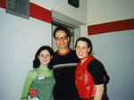 Jessica (on the right) and me with Ted Raimi!!