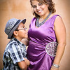 Anita & Issac : Family portrait session. Indianapolis Art Center.