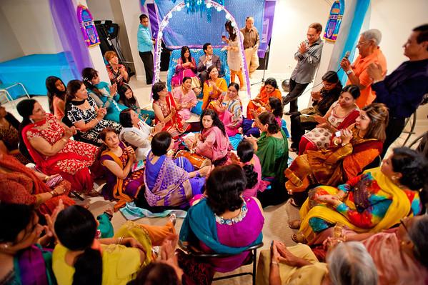 Anjali & Vishal Dholki