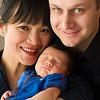 Anneth, Eric & Eli : Newborn & family portraits