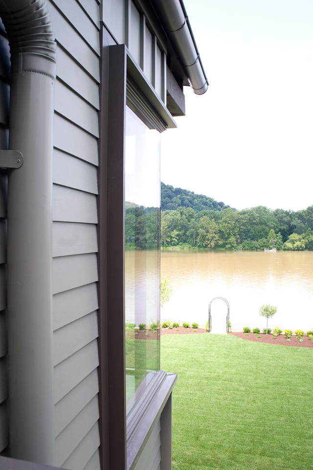 Bedroom window skewed reflection