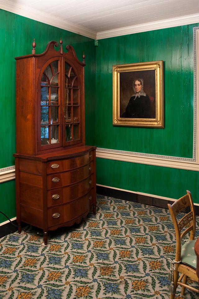 Woodville Plantation: interior: dining room