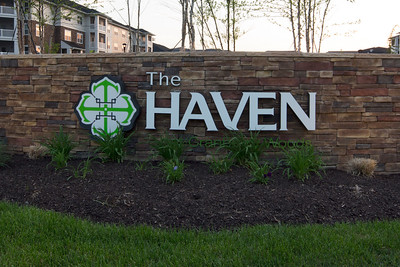 The Haven sign