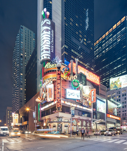 Clear Channel Spectacolor Signage in Times Square, NYC