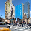 Clear Channel Outdoor wallscape advertising display off-of Times Square