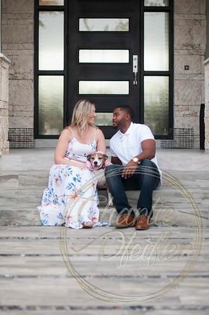 Cara and Julius Engagement - 132 proof