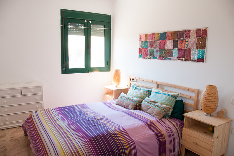 Second bedroom - window faces west