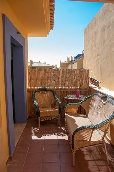 Door from third bedroom to terrace