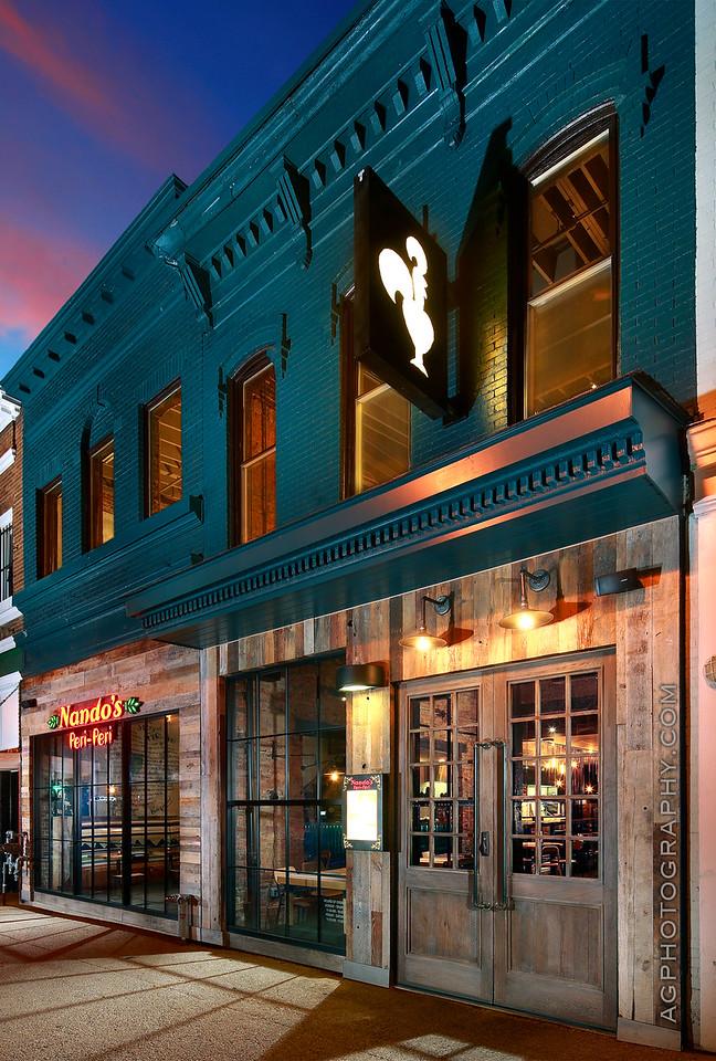 Nando's H-Street, Washington, DC, 8/3/16.