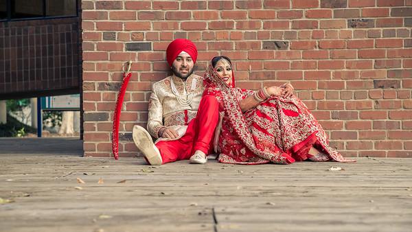 Asha + Mandeep Wedding Shoot