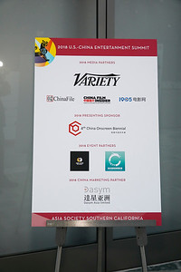 U.S.-China Entertainment Gala Dinner at the Skirball Center, Oct 30, 2018 - Los Angeles, America