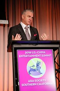 U.S.-China Entertainment Gala Dinner at the Skirball Center, Oct 30, 2018 - Los Angeles, America