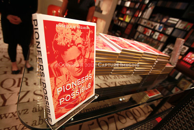"1205166-014    COSTA MESA, CA -  MAY 22: The ""Pioneers of the Possible"" book launch party at the Assouline boutique in South Coast Plaza on May 22, 2012 in Costa Mesa, California. (Photo by Ryan Miller/Capture Imaging)"