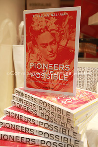 "1205166-009    COSTA MESA, CA -  MAY 22: The ""Pioneers of the Possible"" book launch party at the Assouline boutique in South Coast Plaza on May 22, 2012 in Costa Mesa, California. (Photo by Ryan Miller/Capture Imaging)"