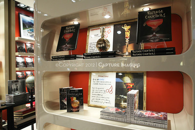 "1206183-012    COSTA MESA, CA - JUNE 21: The party to celebrate the publication ""Vintage Cocktails"" at the Assouline Boutique at South Coast Plaza on June 21, 2012 in Costa Mesa, California. (Photo by Ryan Miller/Capture Imaging)"