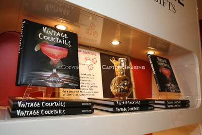 "1206183-008    COSTA MESA, CA - JUNE 21: The party to celebrate the publication ""Vintage Cocktails"" at the Assouline Boutique at South Coast Plaza on June 21, 2012 in Costa Mesa, California. (Photo by Ryan Miller/Capture Imaging)"