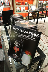"1206183-034    COSTA MESA, CA - JUNE 21: The party to celebrate the publication ""Vintage Cocktails"" at the Assouline Boutique at South Coast Plaza on June 21, 2012 in Costa Mesa, California. (Photo by Ryan Miller/Capture Imaging)"