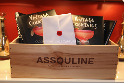 "1206183-002    COSTA MESA, CA - JUNE 21: The party to celebrate the publication ""Vintage Cocktails"" at the Assouline Boutique at South Coast Plaza on June 21, 2012 in Costa Mesa, California. (Photo by Ryan Miller/Capture Imaging)"