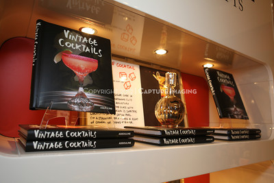 "1206183-007    COSTA MESA, CA - JUNE 21: The party to celebrate the publication ""Vintage Cocktails"" at the Assouline Boutique at South Coast Plaza on June 21, 2012 in Costa Mesa, California. (Photo by Ryan Miller/Capture Imaging)"