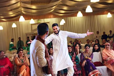Indian Parkistani Wedding at Chaundni Restaurant Newark. Nadia and Atif Mehndi
