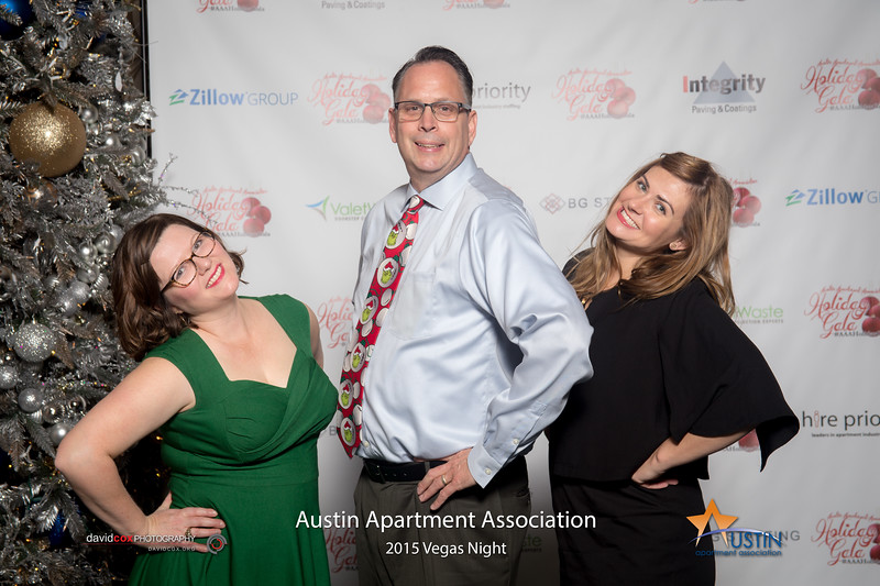 Celebrating the season with the Austin Apartment Association at the 2015 Holiday Gala! Order Print: smu.gs/1IOjPnt