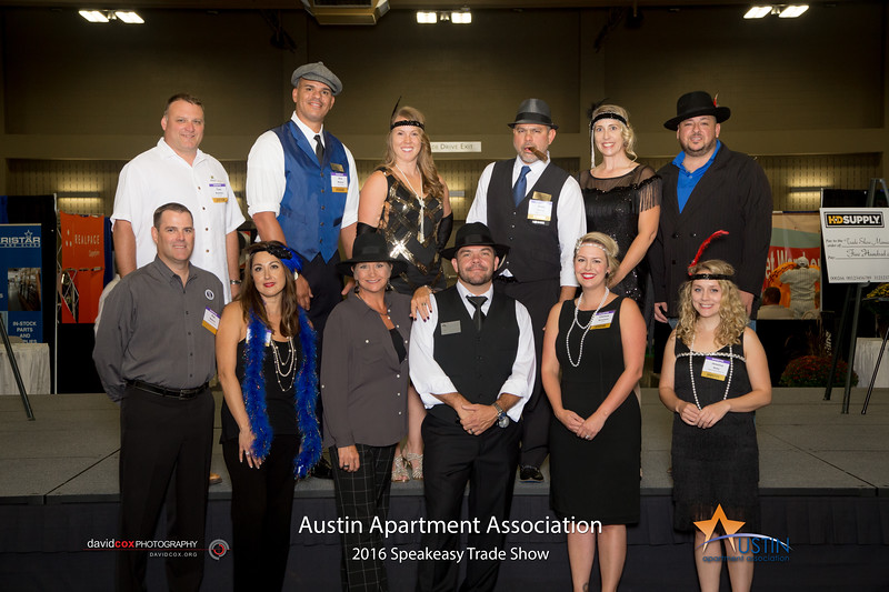 "Ah applesauce! The 2016 Austin Apartment Association Speakeasy Trade Show was all hotsy-totsy -- truly hittin' on all sixes! See full gallery & order prints here: <a href=""http://smu.gs/2dwgtHc"">http://smu.gs/2dwgtHc</a>"