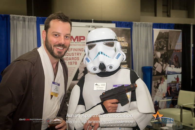 "May the Fourth Be With You! The 2017 Austin Apartment Association Trade Show was out of this galaxy. See full gallery & order Prints: <a href=""http://smu.gs/2pjPZi1"">http://smu.gs/2pjPZi1</a>"