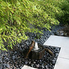 Zen fountain with Black Bamboo