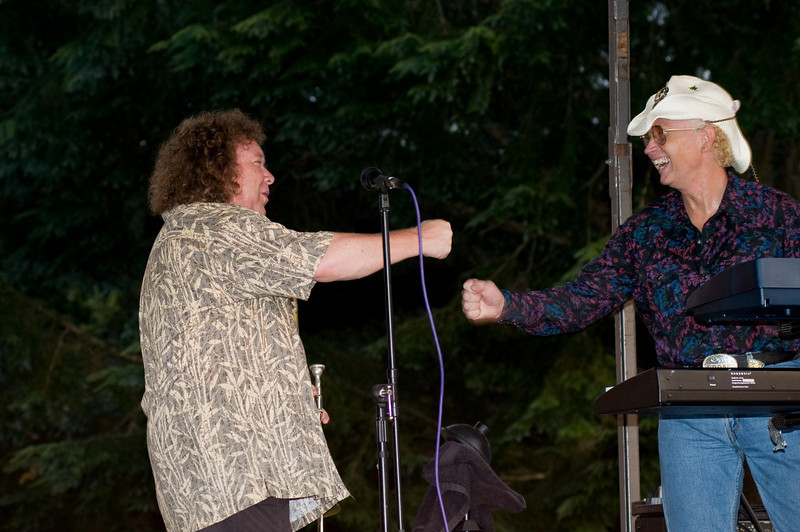 Special guest Randy Oxford plays a few tunes with the Shelli Parker Band - Mt Rainier Country Music Festival - Mineral, WA 8/16/08
