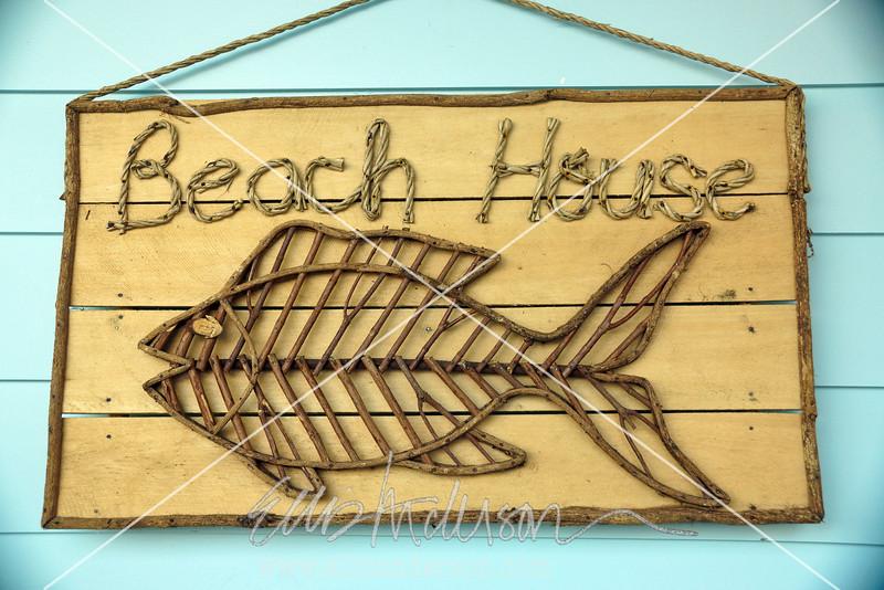 beach sign 3377