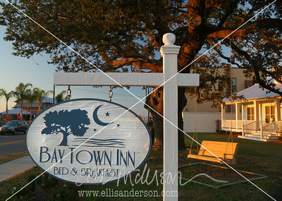Bay Town Inn sign 3356FN