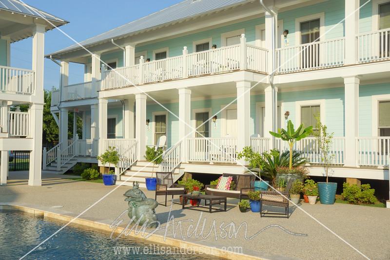 Bay Town Inn pool 6839