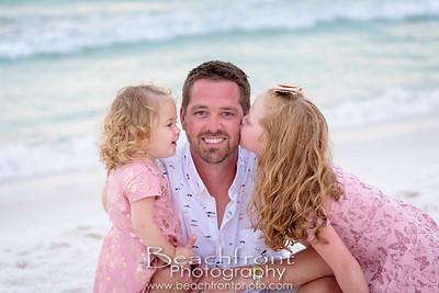 Cowsert Family Beach Pictures in Miramar Beach