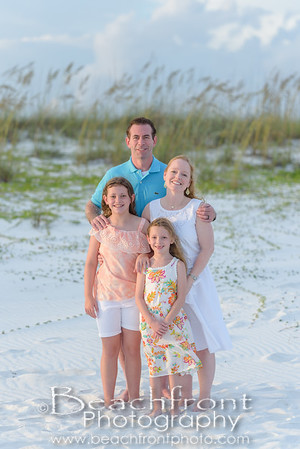 The Echternach Family Beach Pictures in Destin, FL.