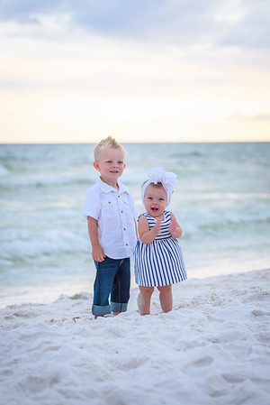 The Pitts Family Beach Pictures in Ft. Walton Beach