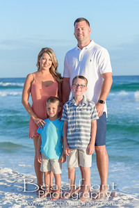 Harrington Family beach Portraits