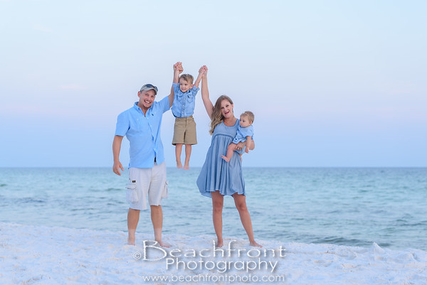Solowey Family Beach Pictures in Fort Walton Beach
