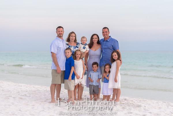 The Kopper Family - Beach Portraits in Destin, FL.