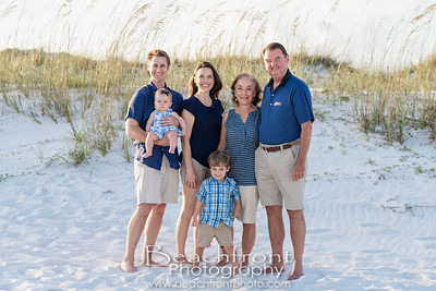 Family Beach Pictures in Fort Walton Beach