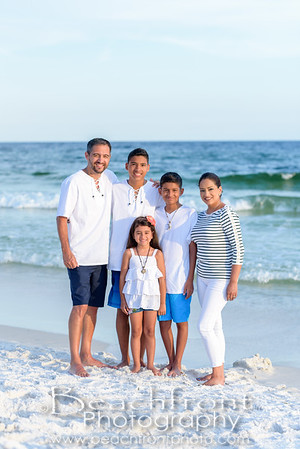 Reyes Family Beach Pictures in Fort Walton Beach
