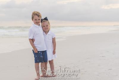 Family Beach Portraits in Destin, FL