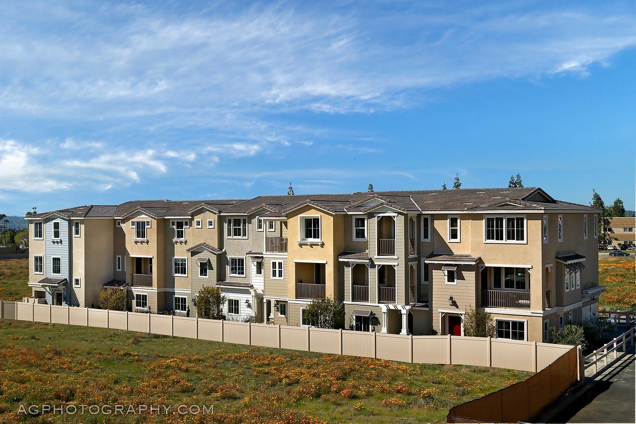 Bonita Village Models by Beazer Homes, Pomona, CA, 3/11/16.