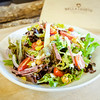 Italian Chop - Spring Mix, Salami, Fontina, Pepperoncinis, Fried Chick Peas, Red Onion, Cherry Tomatoes, Balsamic Vinaigrette