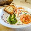 Caprese Salad - Seasonal Tomatoes, Fresh Mozzarella, Basil Pesto, Balsamic Glaze