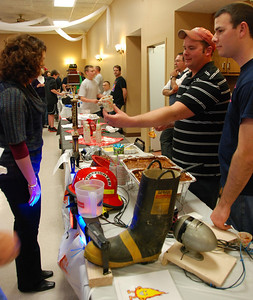 Bellevue Fire Department serving chili with all the bells and whistles.