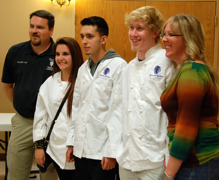 Peoples choice, third place: Bellevue East Culinary students